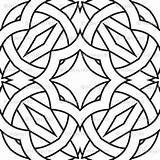 Kaleidoscope Coloring Pattern Fabric Spoonflower Thumbnails sketch template