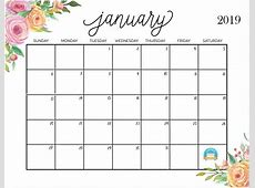 Printable planner 2019 Download them or print