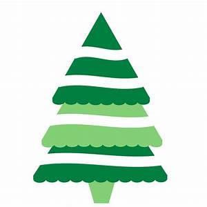 Christmas Tree Clip Art Black And White