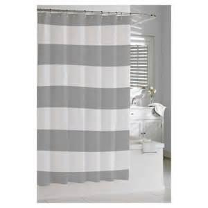 baby shower registry stores kassatex hton stripe shower curtain grey target