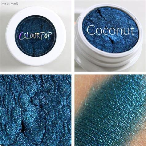colourpop coconut colourpop colourpop eyeshadow makeup