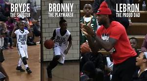 LeBron James Jr & Brother Bryce Maximus Put On A Show In ...