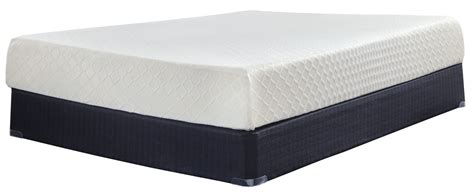Ashley Furniture 10 Inch Chime Memory Foam Queen Mattress