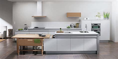 modele de cuisine amenagee white rendez vous kitchen by thibault desombre