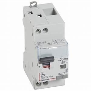 Disjoncteur Différentiel Type A : disjoncteur diff rentiel legrand dx3 3a courbe c 30ma 2 pole ~ Dailycaller-alerts.com Idées de Décoration