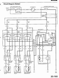 1997 Honda Accord Power Window Wiring Diagram