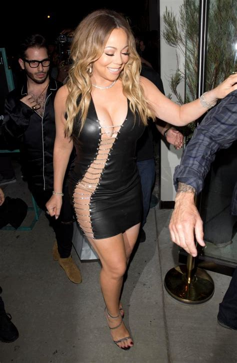 mariah carey risks flashing   daring side