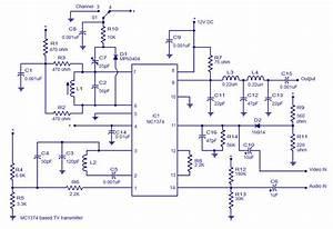 Tv Transmitter Circuit Ic Mc374