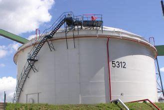 berechnung des waermeverlusts von lagertanks tank