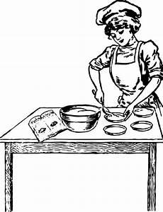 Clipart - baker