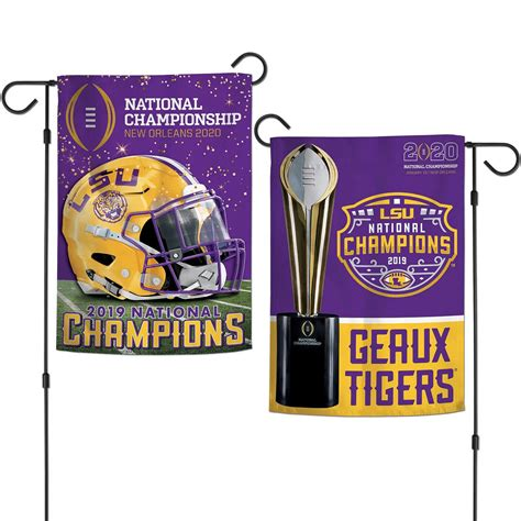 Wincraft Lsu Tigers 2020 2019 Football National Champions ...