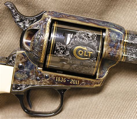 Around the NRA: Keeping Colt's 175th Anniversary Revolver ...