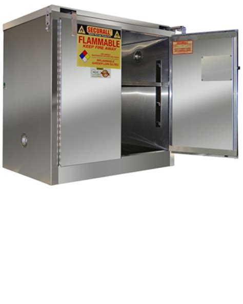 flammable storage cabinet requirements nfpa a331 ss securall stainless steel flammable storage cabinet