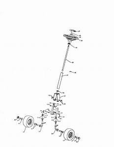 Steering Diagram  U0026 Parts List For Model We261 Weedeater
