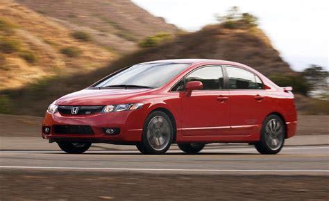 2010 Honda Civic Si Sedan Review