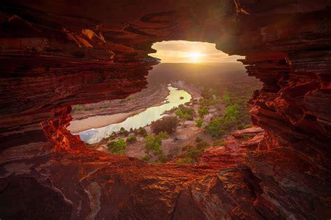 natures window rob dose landscape  portrait