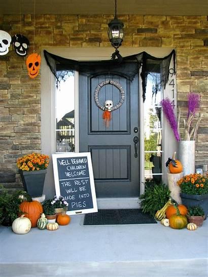 Halloween Porch Decorations Decoration Ghoulish Menu Chilling