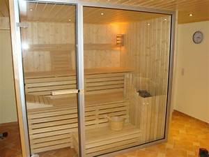 Sauna Mit Glasfront : sauna eigenbau haus dekoration ~ Whattoseeinmadrid.com Haus und Dekorationen