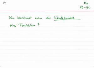 Wendepunkte Berechnen Online : wendepunkte berechnen lernwerk tv ~ Themetempest.com Abrechnung