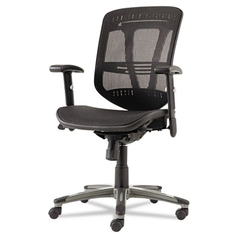 alera office chair eon series multifunction wire mechanism mid back mesh