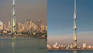 Tallest Building In India: 700 meters tall Mumbai India ...