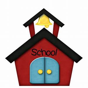 School Building Clipart Free Black And White | Clipart ...