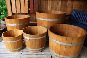 Pflanzkübel 70 Cm Durchmesser : pflanzk bel 100 cm h he 70 cm orangeriek bel lasiert pflanzk bel aus eichenholz ~ Orissabook.com Haus und Dekorationen