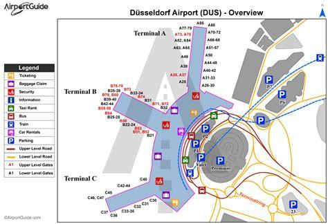 Flughafen Düsseldorf Karte