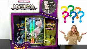Clueless Girlfriend Opens Mythical Pokémon Collection Box ...