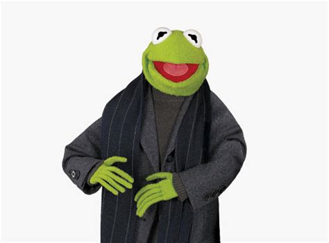 Brooks Brothers Dresses Kermit the Frog for The Muppets ...
