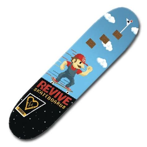 revive skateboard deck 80 revive mario skateboard amino
