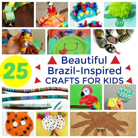 25 beautiful brazil inspired crafts for page 3 927 | 25 Beautiful Brazil Inspired Crafts For Kids Featured
