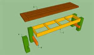 How to Build a Bench Seat Plans