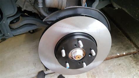 honda accord brake job  project