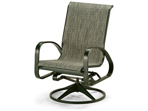 chaise aluminium exterieur telescope casual primera sling aluminum adjustable swivel rocker dining chair 9840