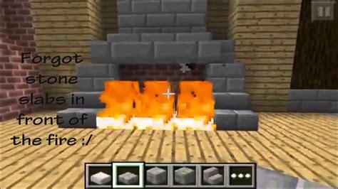 Minecraft Kitchen Ideas Pe by Minecraft Pe Fireplace Designs