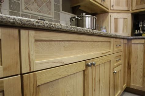 custom hickory cabinets  quartz counter top