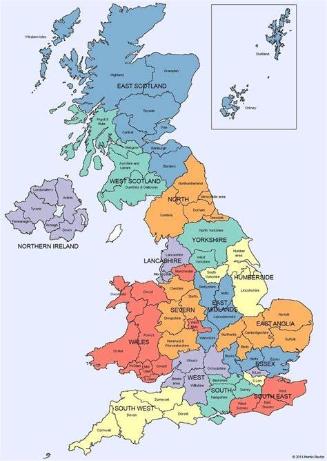 map  uk showing counties map uk  irelandmap uk
