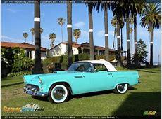 1955 Ford Thunderbird Convertible Thunderbird Blue