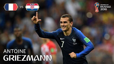 antoine griezmann goal france  croatia  fifa
