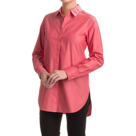 foxcroft blouses no iron foxcroft no iron tunic shirt for save 75