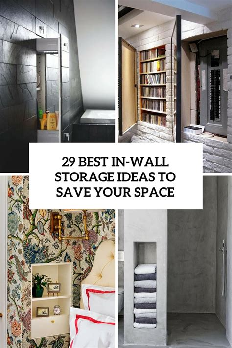 Storage Ideas by Built In Storage Archives Shelterness