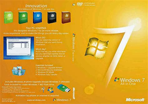 Windows 7 All in One ISO Free Download [AIO 32-64Bit