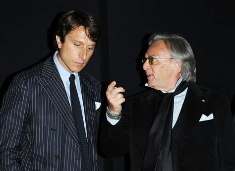Diego Della Valle And Matteo Montezemolo Photos Photos