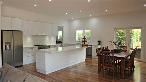 bench for kitchen island ballarat kitchens custom cabinetry island bench design