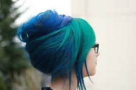 Admirable 2020 Other Images Blue Green Hair Tumblr Hairstyles For Men Maxibearus