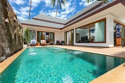 Pool Tropical Villa Resort Krabi Sign Beach