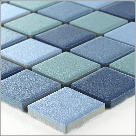Keramik Mosaik Fliesen Blau  Fliesen  House Und Dekor