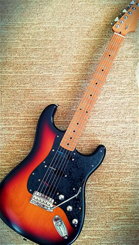 musikraft quarter sawn roasted maple strat neck reverb