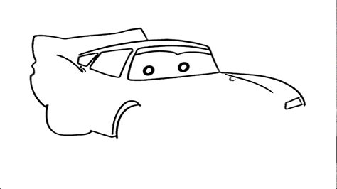 How To Draw Car From Cars